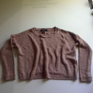 Forever 21 Cropped knitted sweater
